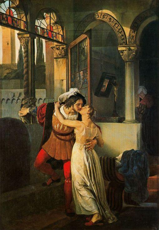 Francesco Hayez, óleo sobre tela, 1823.