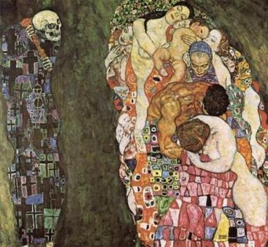 Morte e vida, Gustav Klimt.