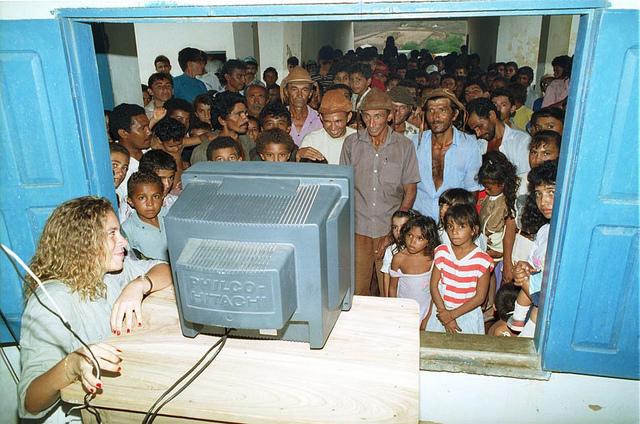 Lagoa do Barro liga a TV
