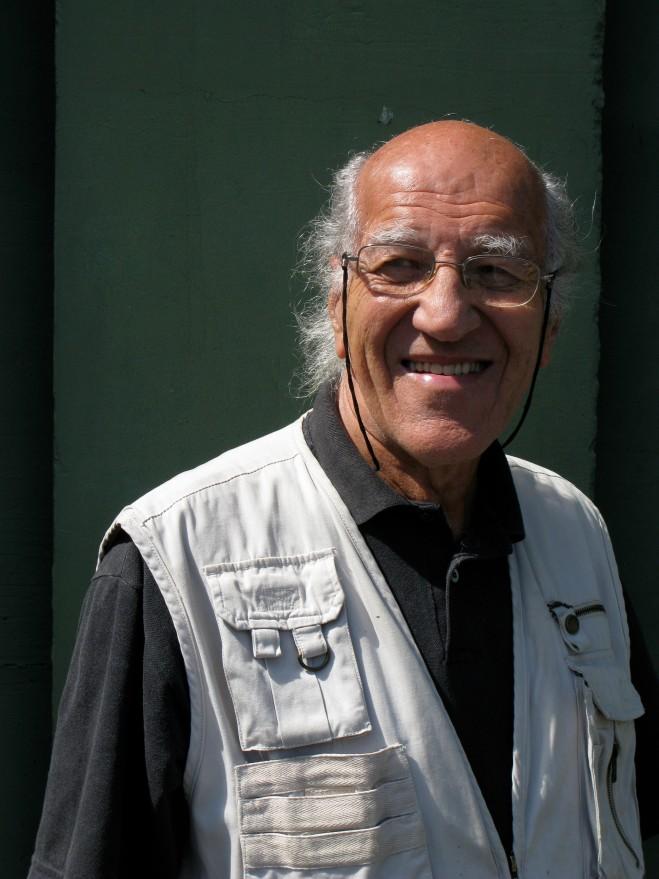 O arquiteto Rodrigo Moreira