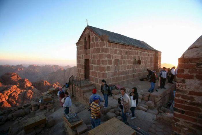 No topo do Monte Sinai (www.gopixpic.com)