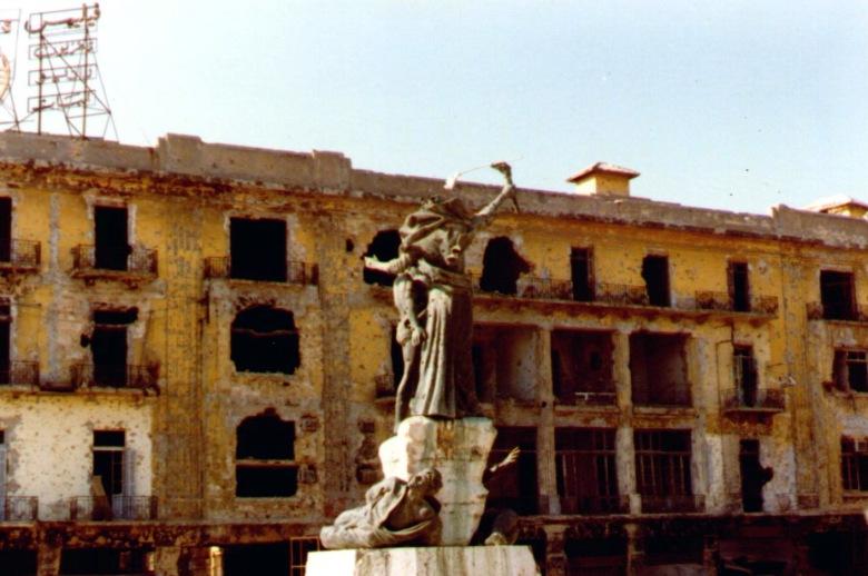 Praça dos Mártires, 1982.