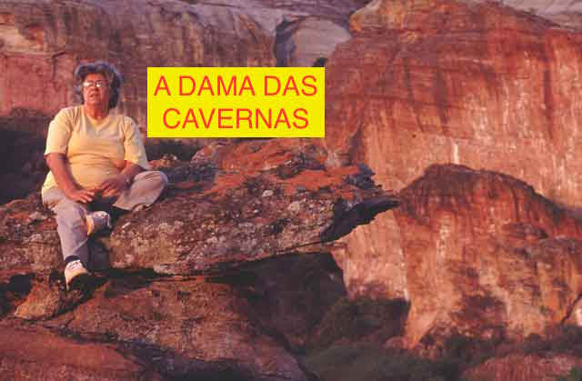 Niède Guidon, Serra da Capivara, Piauí (foto www.saoraimundo.com)