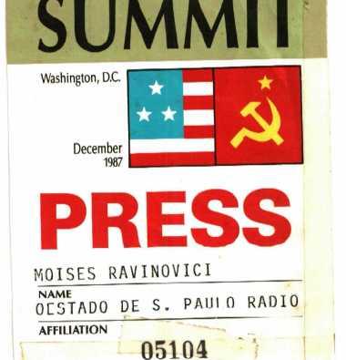Encontro Gorbachov e Ronald Reagan