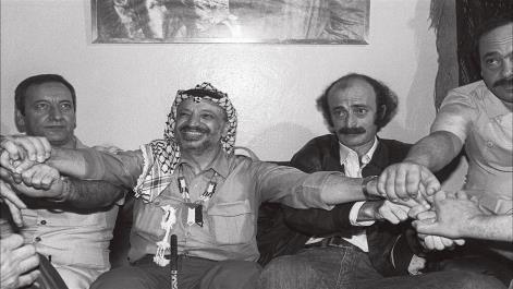 Despedida do amigo Wallid Jumblat, o líder druso. Foto: Al-Araby