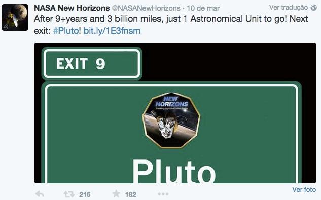 A 13 dias de Plutão (2/6)