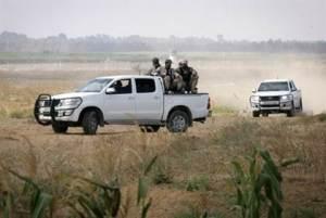Patrulhas do Hamas em Gaza