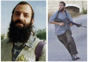 Baruch Goldstein: 29 mortos na mesquita.