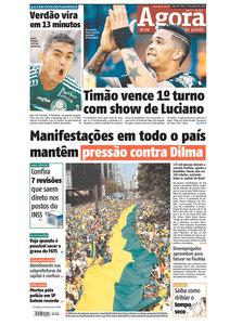 Capas do domingo de protesto (2/6)