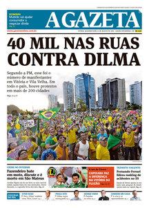 Capas do domingo de protesto (3/6)