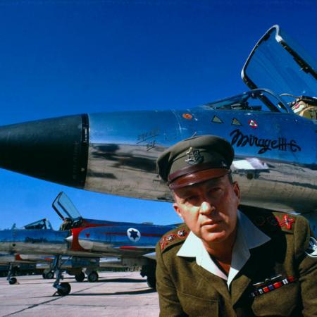 Rabin, em 1967, Guerra dos Seis Dias.