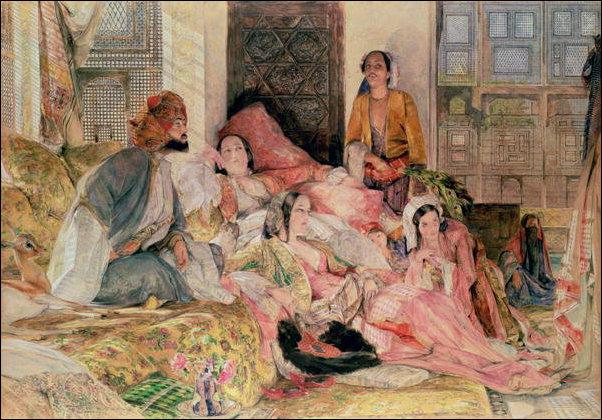 John Frederick Lewis - 'Life in the Harem'