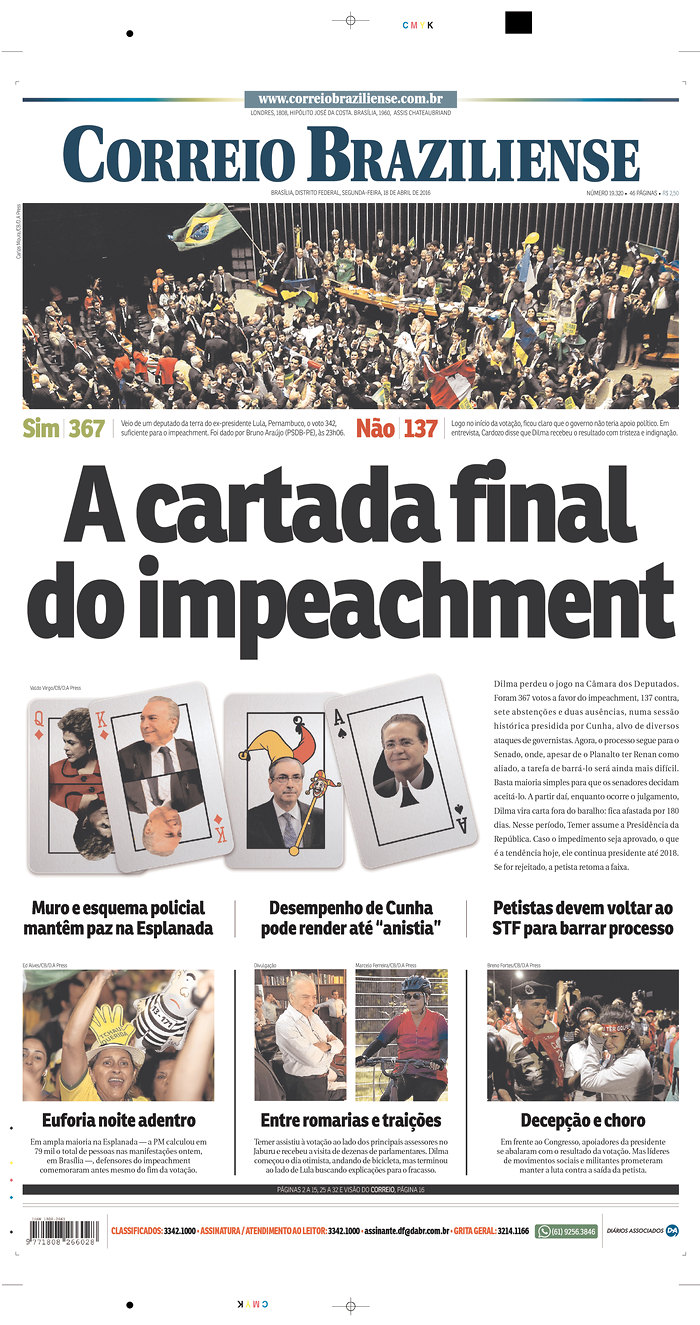 Capas do impeachment – Escritos com a pele
